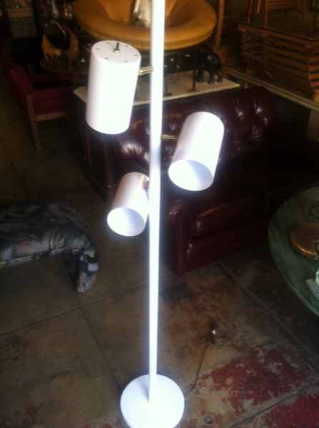three light floor lamp