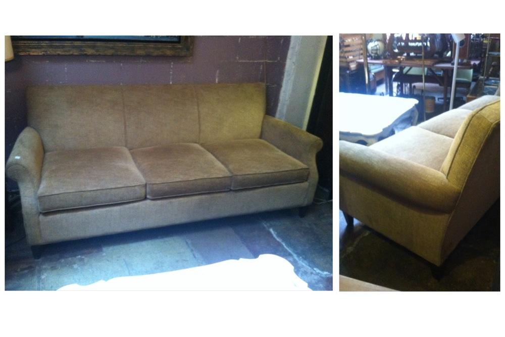 custom made traditional style sofa