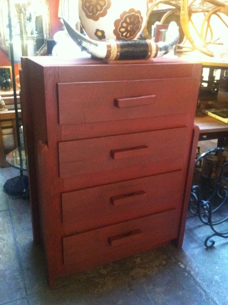 custom made highboy dresser