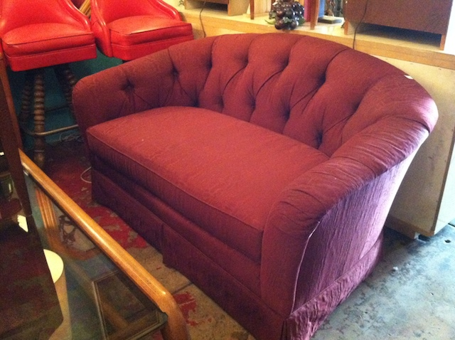 love seat by sherrill furniture
