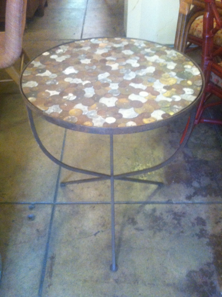 Small Iron Bistro Table
