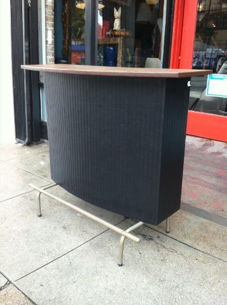 1960s Upholstered Bar