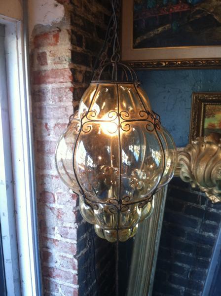 Vintage Murano Lantern