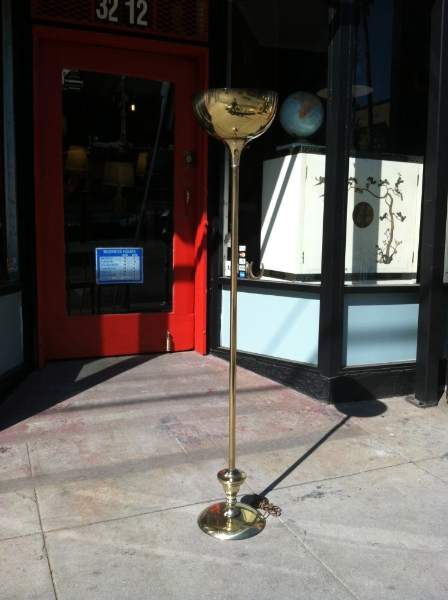 mid-century modernist floor lamp
