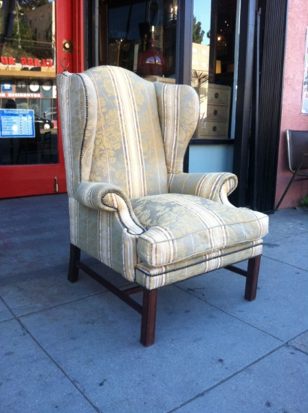Oversized Wing Chair
