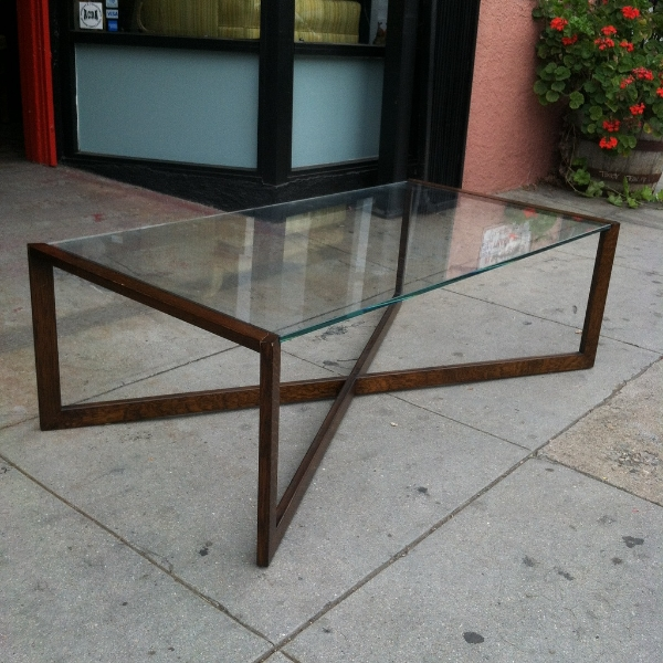X Base Coffee Table