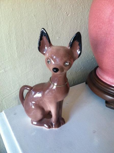 1962 Pottery Chihuahua