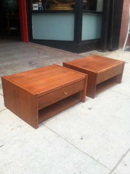 Low Danish Modern Night Stands