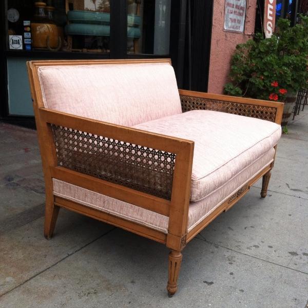 mid-century style love seat