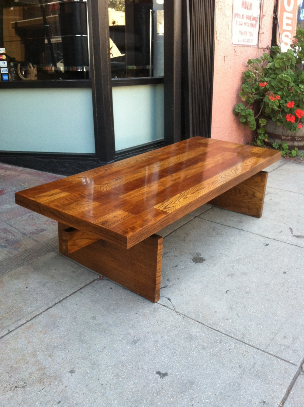 vintage coffee table by LANE