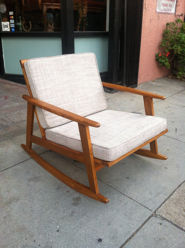 SOLD | Modern Mom | Mid Century Rocking Chair U2014 Casa Victoria Vintage  Furniture Los Angeles