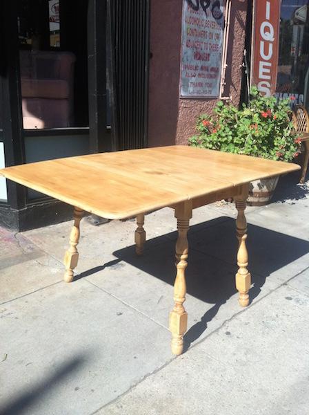 Drop Leaf Farm Table