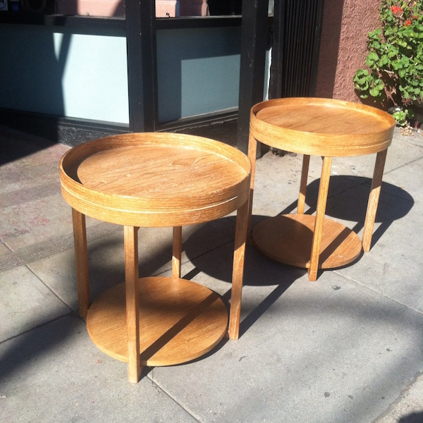 Pair of Custom End Tables