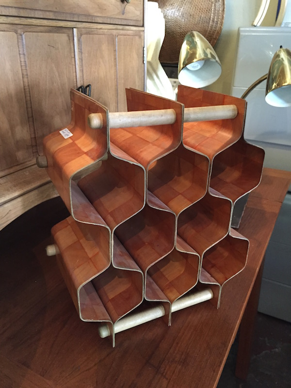 1960s Wine Rack