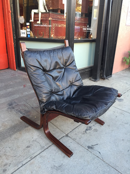 1970s Leather Sling Chair by Westnova of Norway