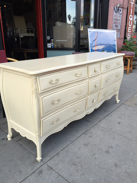 French Style Dresser with 9 Drawers