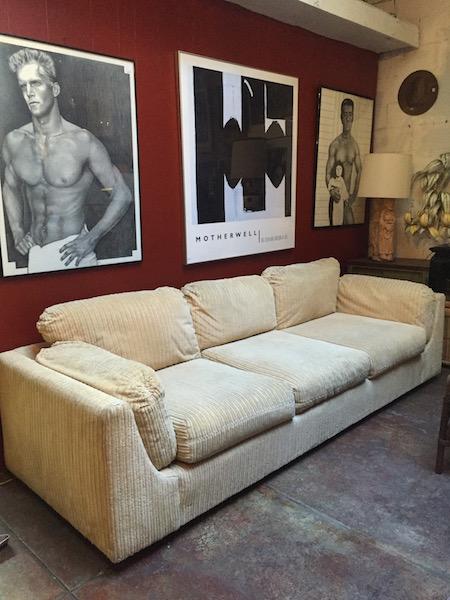 Custom Made 1970s Sofa