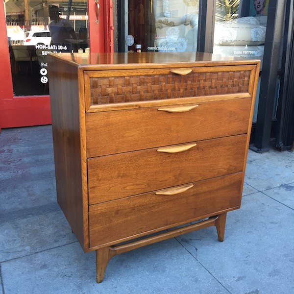 Mid-century Four Drawer Chest by Lane