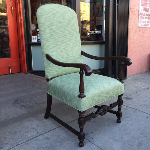 1920s Spanish Revival Arm Chair