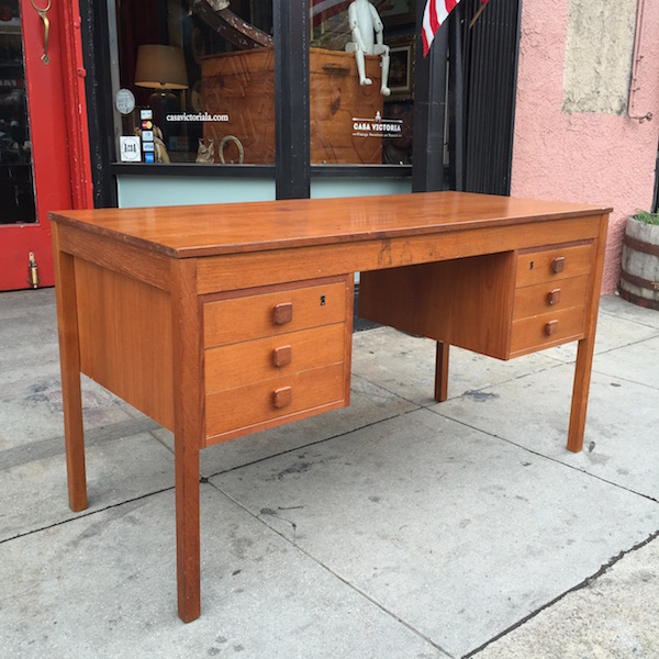 Great Clothes Call | Vintage Desk By Domino Nobler Of Denmark U2014 Casa Victoria  Vintage Furniture Los Angeles