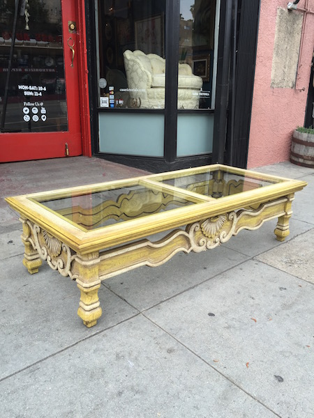 1970s Spanish-style Coffee Table