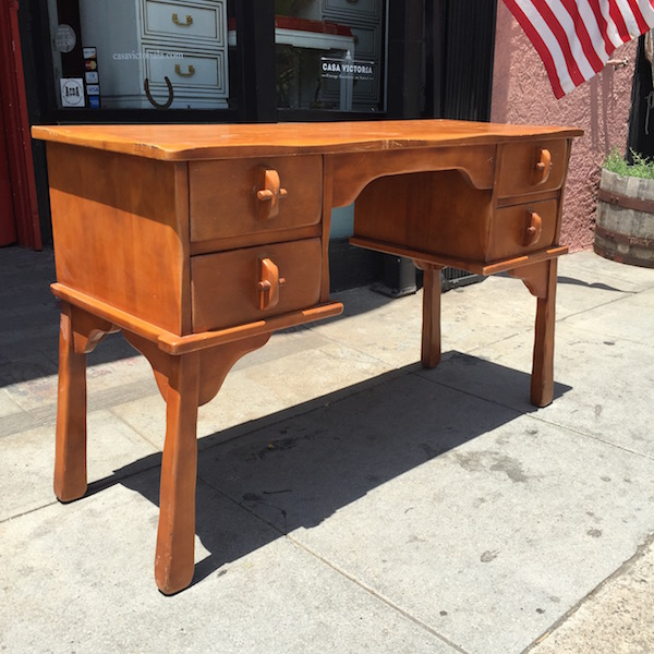 House Into a Home | 1930s Monterey Style Desk by Kroehler — Casa Victoria Vintage  Furniture Los Angeles - House Into A Home 1930s Monterey Style Desk By Kroehler — Casa