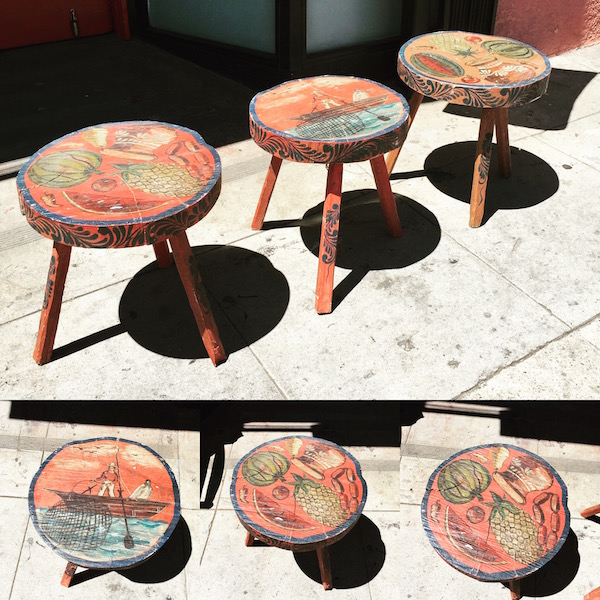Three Vintage Hacienda Tables
