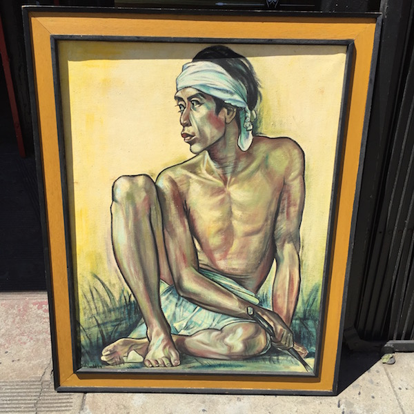 1968 Painting of a Man