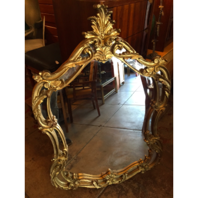 Large Vintage French Style Mirror