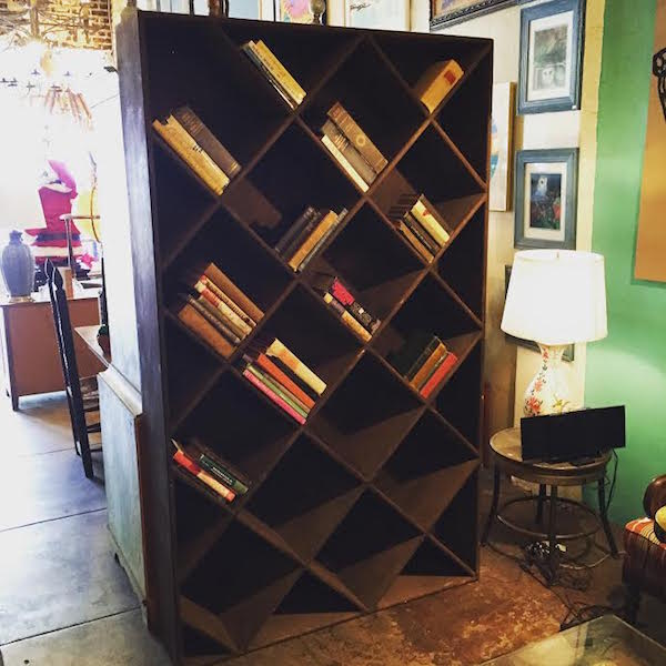 Custom Made Wine Case Book Shelf