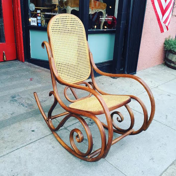 Wet, Bend, Shape | 1970s Bentwood Rocking Chair U2014 Casa Victoria Vintage  Furniture Los Angeles