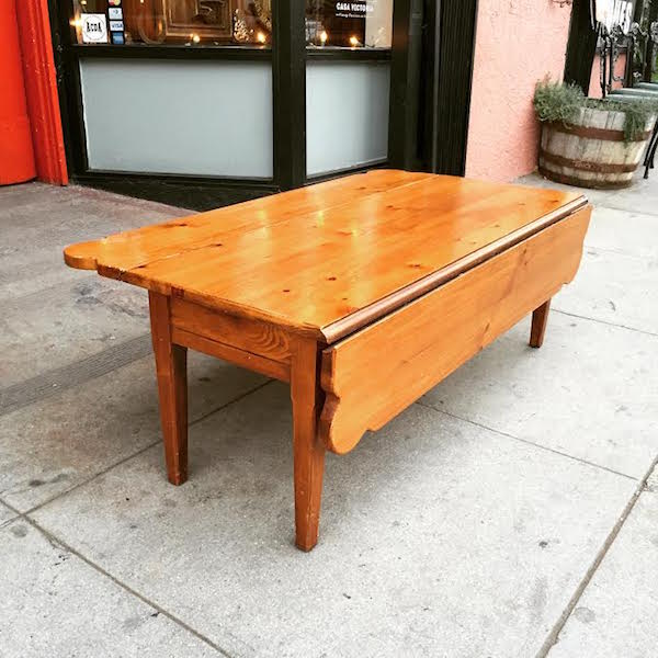 Farmhouse Pine Coffee Table by Broyhill