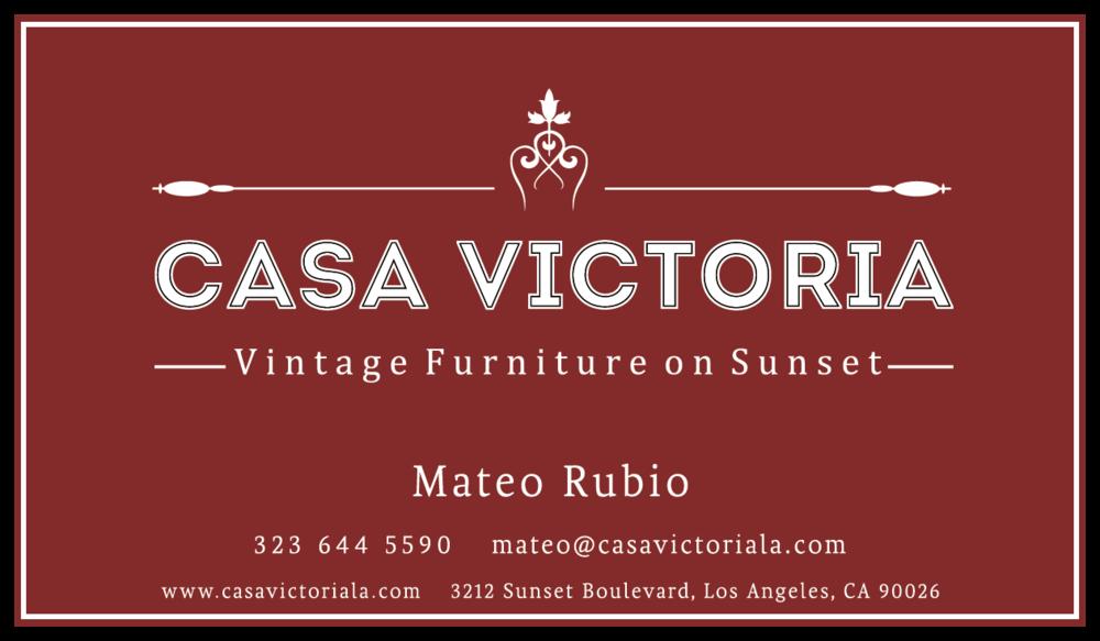 Cvbc Robert.png. Casa Victoria Vintage Furniture Los Angeles