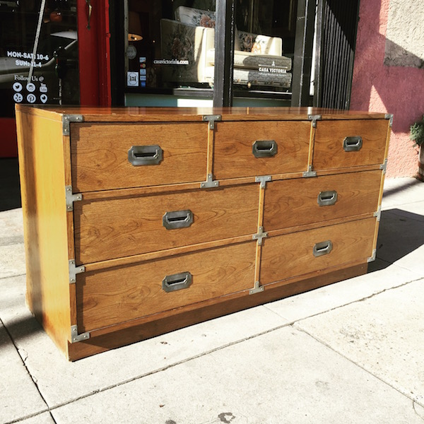 1973 Campaign Style Chest by Bernhardt