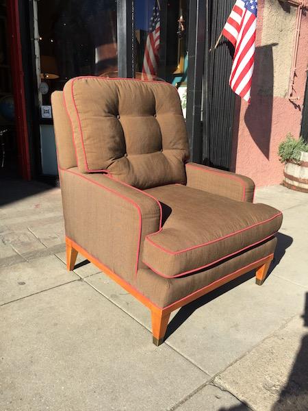 Classic High Back Club Chair