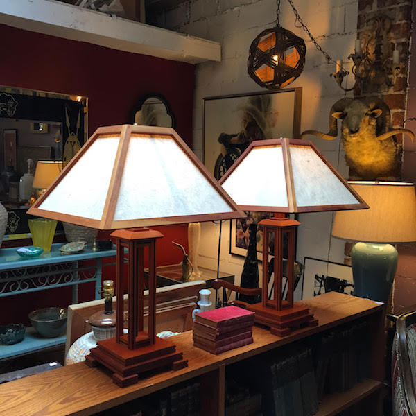 Pair of Custom Made Table Lamps