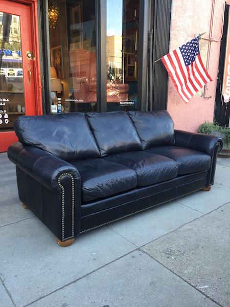 Leather Savannah Sofa