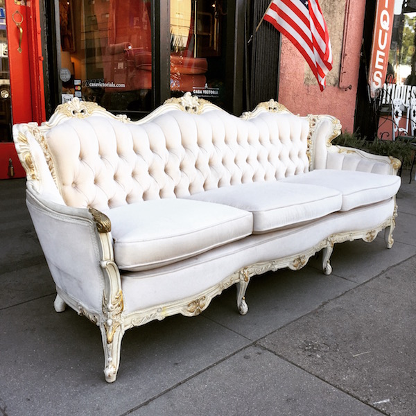 Charming 1950s French Style Sofa
