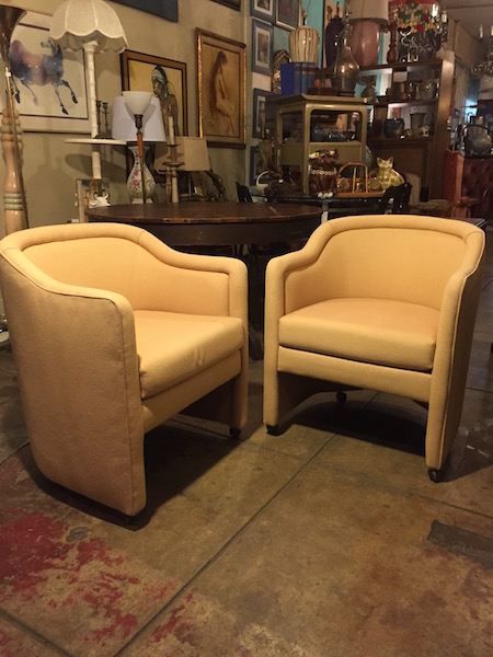 Pair of 1970s Club Chairs
