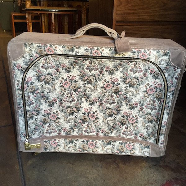 Vintage Pullman Suitcase by The French Co. of California