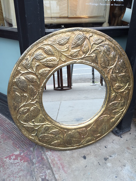 Vintage Medallion Mirror