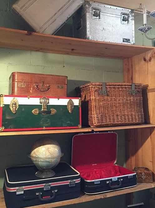 Vintage Luggage at Casa Victoria