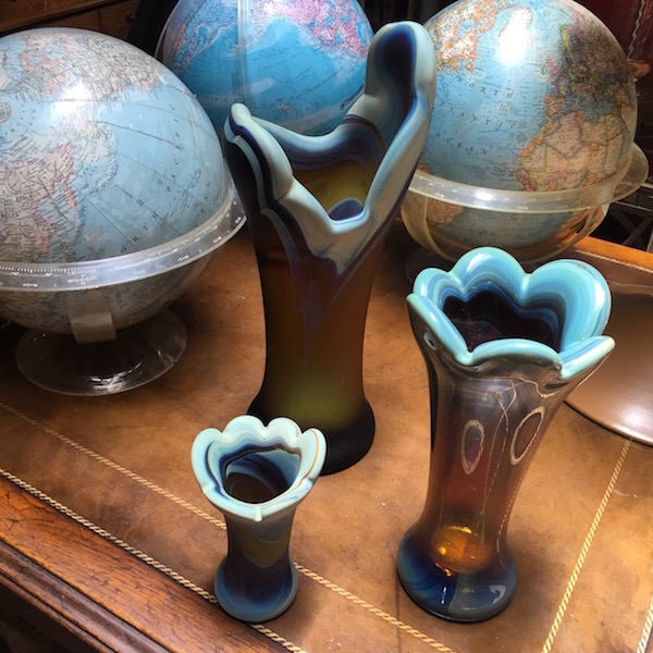 Beautiful Art Glass Vases