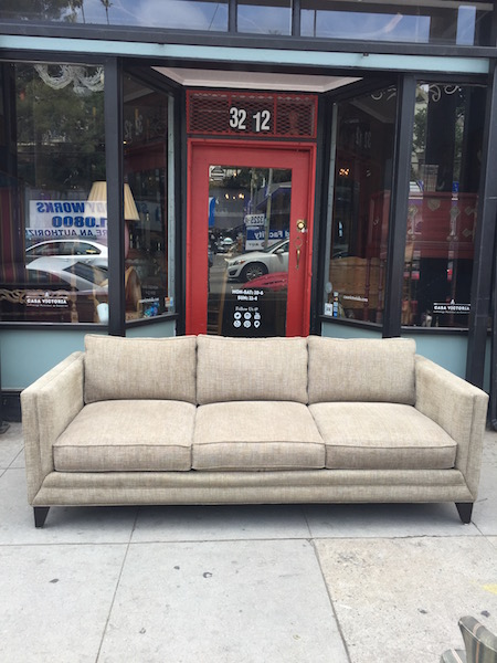 Classic Chenille Sofa