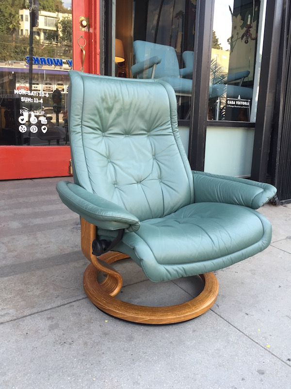 Stressless Leather Chair by Ekornes of Norway