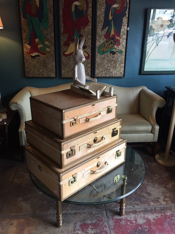 Storage Galore | Set Of 1930s Vintage Pullman Cases By Hartmann Luggage U2014  Casa Victoria Vintage Furniture Los Angeles
