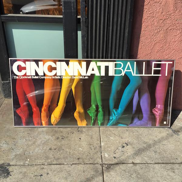 1981 Cincinnati Ballet Print