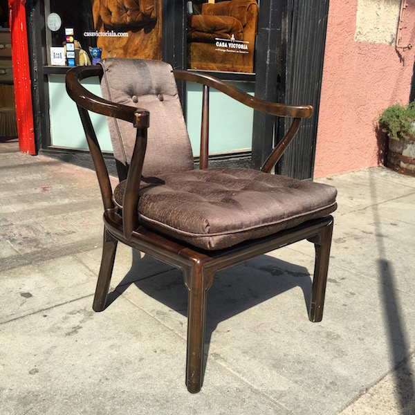 Happiness Is Only A Chair Away | Classic Asian Style Arm Chair