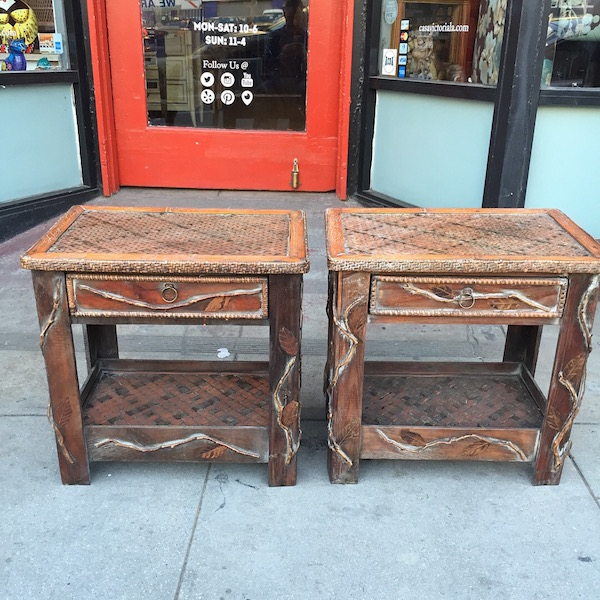Handcrafted Nightstands