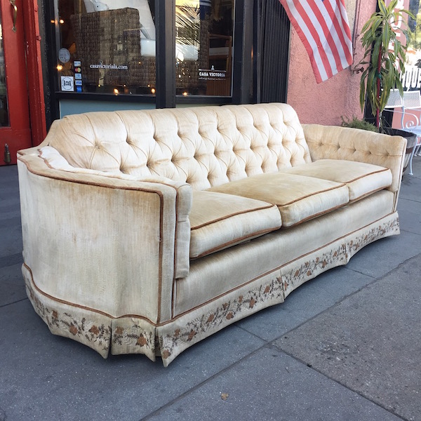 Classic Hollywood Regency Sofa